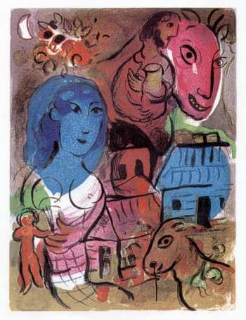 Conf Michel Deguy image Chagall
